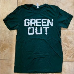 🔥5/$15🔥 Green Out Michigan State shirt